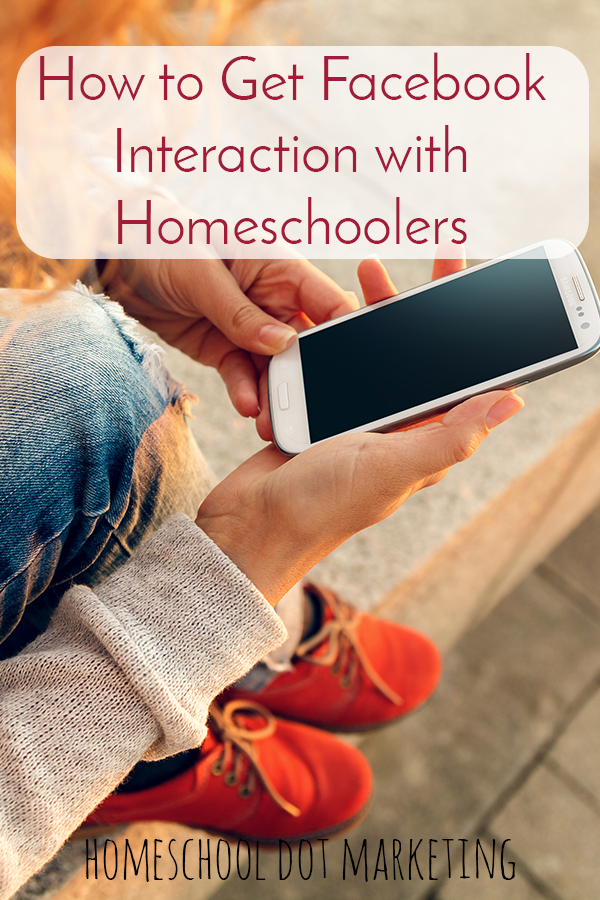 Custom Facebook Updates for Your Business Page get Interaction with Homeschoolers