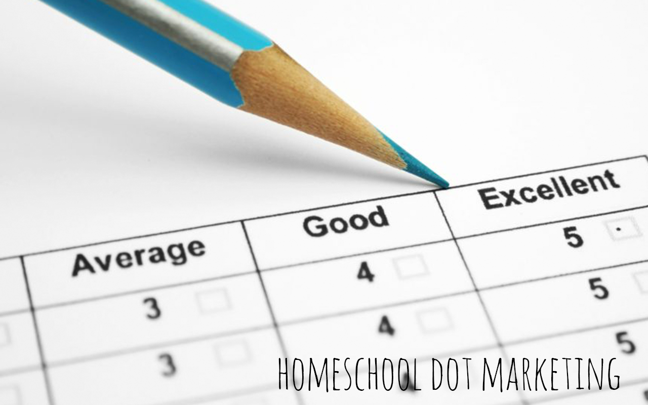 Custom Survey Homeschool Dot Marketing