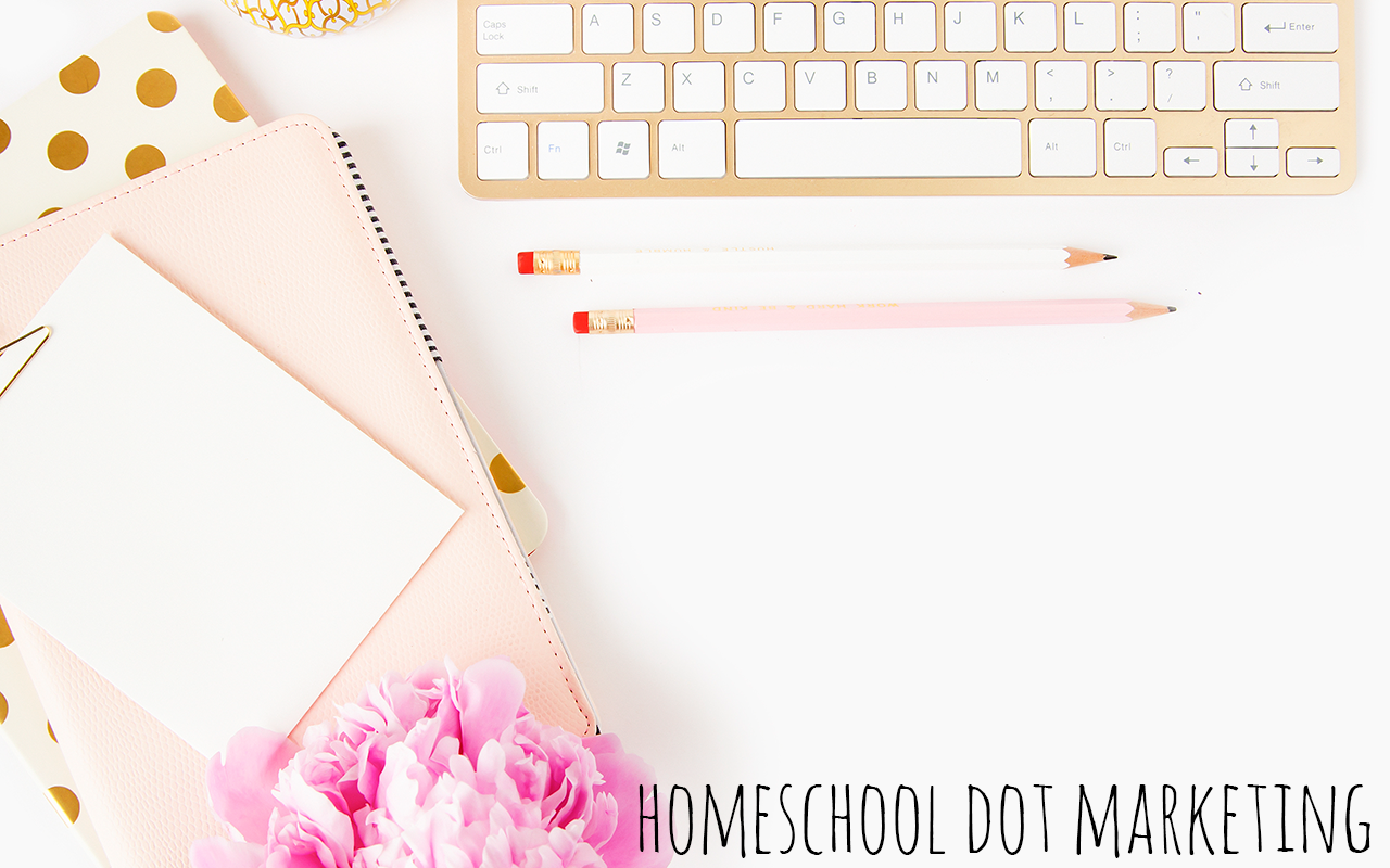 Social Media Package Homeschool Dot Marketing