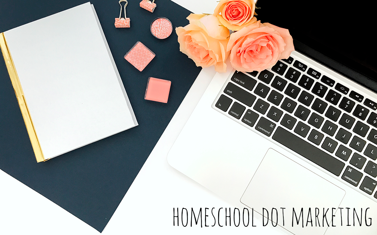 Company blog management Homeschool Dot Marketing
